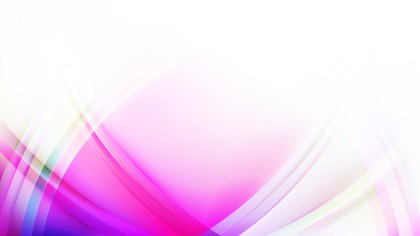 Abstract Pink and White Waves Curved Lines Background Image
