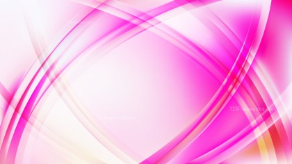 Pink and White Curve Background