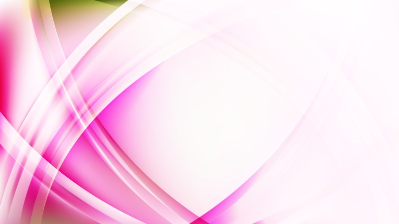Pink and White Curved Background