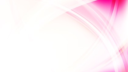 Pink and White Curved Lines Background