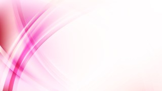 Pink and White Curve Background Vector