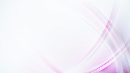Pink and White Curved Background Vector Art