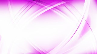 Pink and White Curved Lines Background Graphic