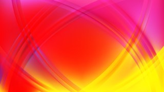 Abstract Pink and Yellow Curved Lines Background