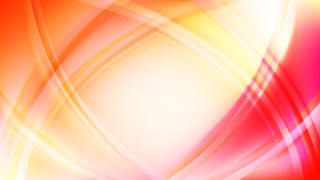 Abstract Pink and Yellow Waves Curved Lines Background