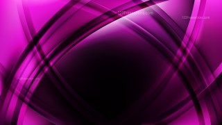 Abstract Purple and Black Waves Curved Lines Background Vector Art