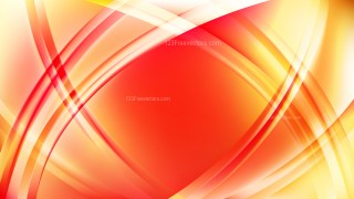 Red and Yellow Curved Lines Background Illustrator