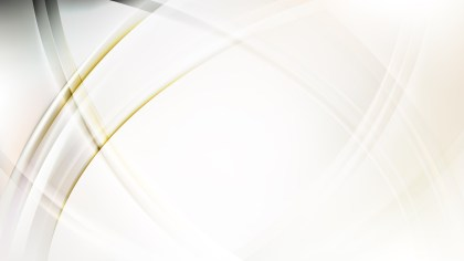 Abstract White Curved Lines Background Vector Graphic