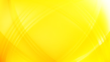 Abstract Yellow Waves Curved Lines Background Vector Image