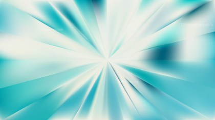 Abstract Beige and Turquoise Radial Burst Background Design