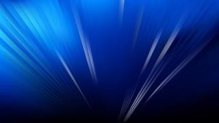 Cool Blue Radial Burst Background