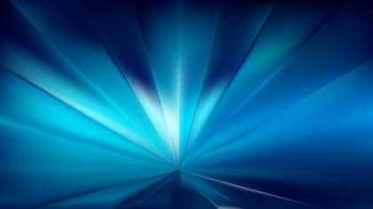 Abstract Black and Blue Rays Background Vector Graphic