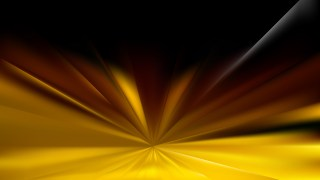 Abstract Black and Gold Rays Background