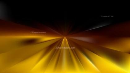 Black and Gold Starburst Background
