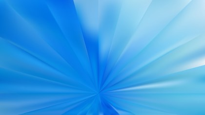 Blue Radial Burst Background