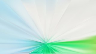 Abstract Blue and Green Radial Background