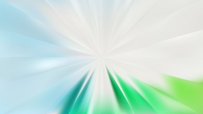 Abstract Blue and Green Burst Background