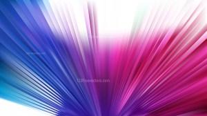 Blue and Purple Radial Burst Background