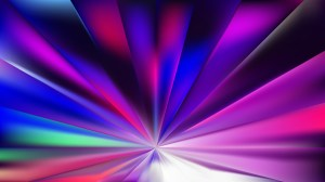 Blue and Purple Radial Background