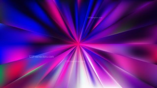 Abstract Blue and Purple Radial Background