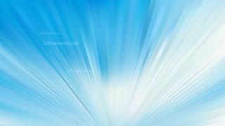 Blue and White Radial Burst Background Illustration