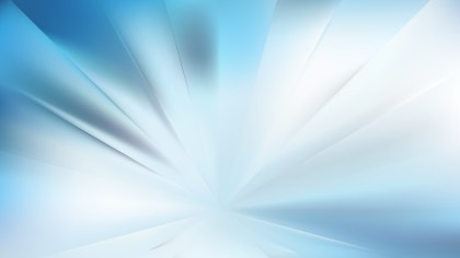 Blue and White Burst Background Vector