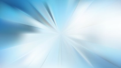 Blue and White Radial Stripes Background