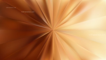 Brown Starburst Background Illustrator