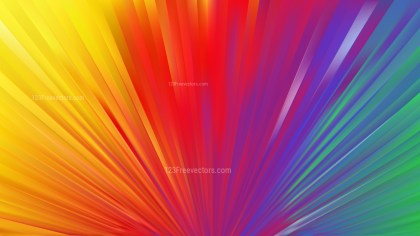 Colorful Radial Background
