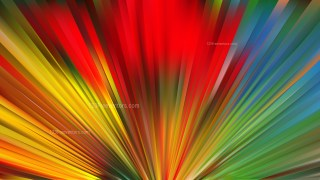 Colorful Rays Background Vector Art