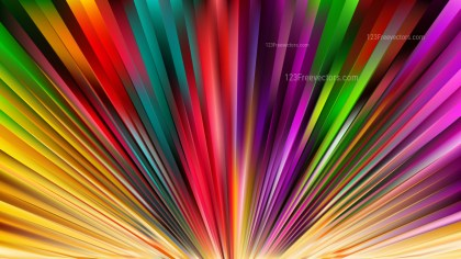 Abstract Colorful Radial Burst Background Illustrator