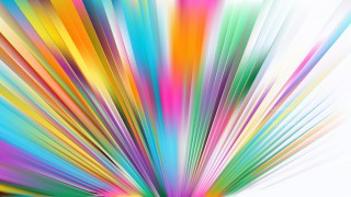 Colorful Burst Background