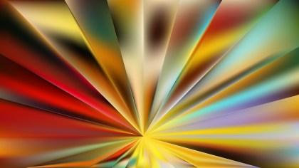 Colorful Radial Burst Background