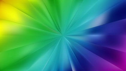 Colorful Burst Background Vector Art