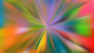 Abstract Colorful Radial Background Design