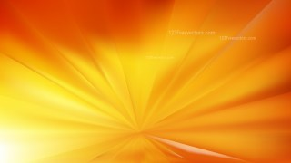 Orange and Yellow Radial Stripes Background