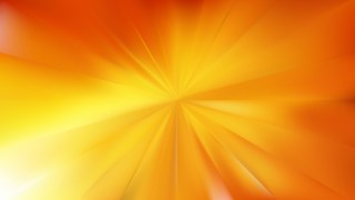 Orange and Yellow Radial Background