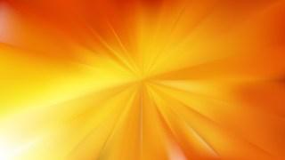 Orange and Yellow Radial Background
