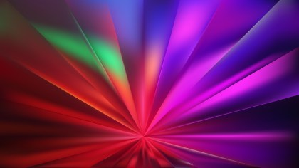 Abstract Dark Color Rays Background