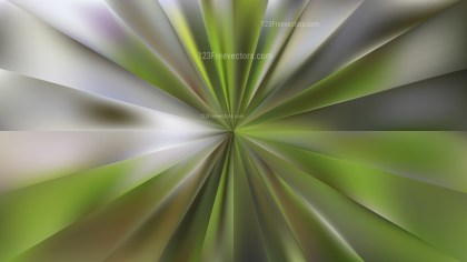 Abstract Dark Green Radial Background