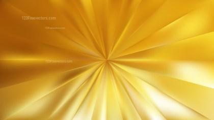 Gold Radial Burst Background