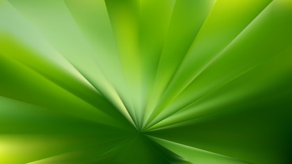 Abstract Green Radial Background Vector Image