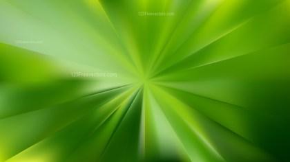 Green Radial Sunburst Background