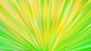 Abstract Green and Yellow Burst Background