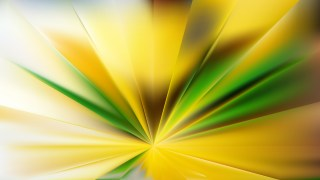 Abstract Green and Yellow Burst Background Image