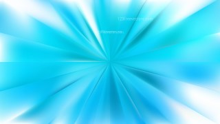 Abstract Light Blue Rays Background