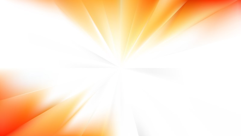 Abstract Light Orange Radial Stripes Background Vector