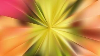 Abstract Orange Sunburst Background Vector Image