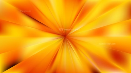 Abstract Orange Radial Burst Background Graphic