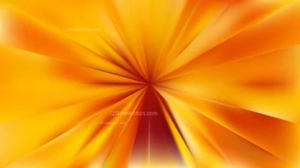 Abstract Orange Radial Sunburst Background Illustration